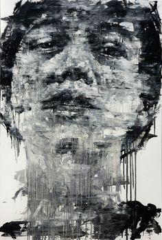 [161] untitled oil on canvas 193.9 x 130.3 cm 2013 by KwangHo Shin, via Behance