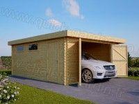 Vous ne possédez pas de garage ? Vous ne voulez pas garer votre voiture dehors ? Le garage en bois, à installer dans votre jardin, est une excellente solution pour protéger votre véhicule à chaque fois que vous ne vous en servez pas. https://www.chaletdejardin.fr/garages/garage-en-bois-400x600-modern-44mm-a-toit-plat-24m.html