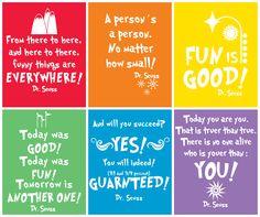 {free prints} Dr Seuss