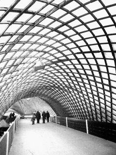 Mannheim Multihalle (1973) Mannheim, Germany. Frei Otto.