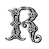 Celtic letter R