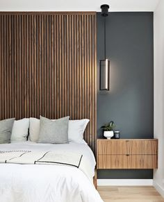 It Can Be Tally Contemporary Many People Think Wood Paneling - Home, Room, Furniture and Garden Design Ideas Home Bedroom, Bedroom Wall, Bedroom Decor, Quirky Bedroom, Earthy Bedroom, Bedroom Quotes, Bedroom Signs, Decorating Bedrooms, Master Bedrooms