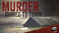 murder comes to town investigation discovery Investigation Discovery, Me Tv, True Crime, Investigations, Favorite Tv Shows, Pop Culture, Real Life, Watch, Clock