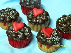 Hasta la Kocina y Más Allá: Cupcakes Coco-Choc de San Valentín (7ªENTREGA)