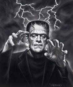 The image most people have in their heads when they hear Frankenstein. Unfortunate thought that is.