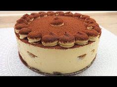 Tiramisu torta /TT/ - YouTube Fudge, The Creator, Make It Yourself, Ethnic Recipes, Youtube, Food, Anna, Drinks, Mascarpone