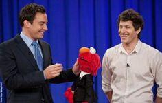 Jimmy Fallon, Elmo & Andy Samberg = Cuteness Overload