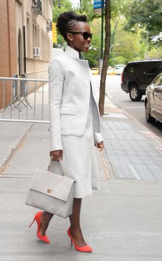 Lupita Nyong'o leaving The View in NYC - October 01, 2015