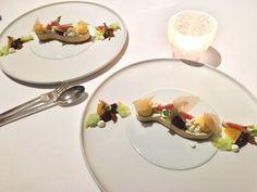 Crystal Luxury Meets Gourmet Food at Villa René Lalique Michelin Star, Glass Restaurant, Cream Carpet, Restaurants, Villa, Europe, Gourmet Recipes, Wines, Panna Cotta