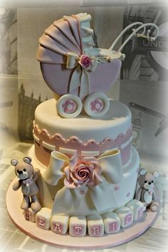 Christening cake - Cake by Sabrina Di Clemente