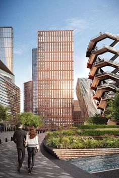 Gallery of Renderings Revealed for New Residential Building at Hudson Yards in New York - 1