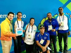 Aruba set to make their Paralympic debut 15.09.2016 Swimmer Jesus de Marchena Acevedo will be the country's sole representative and will compete in the men's 100m freestyle S7 on 16 September at Rio 2016. - Jesus de Marchena Acevedo - Rio 2016