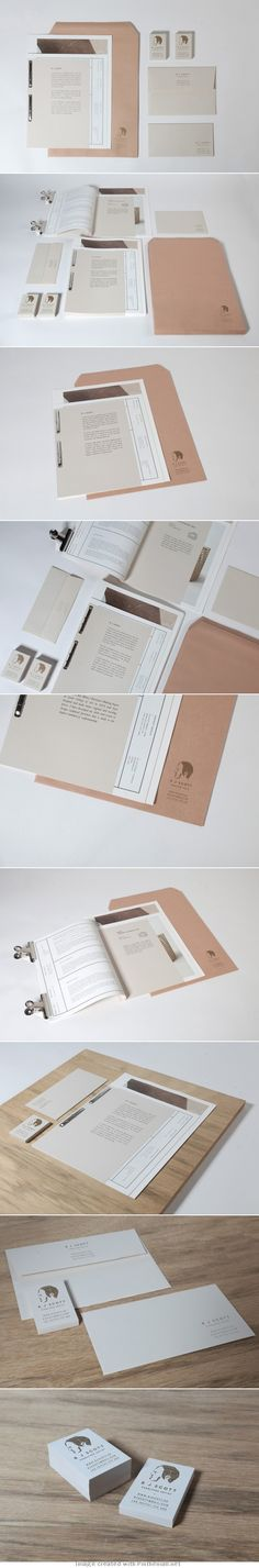 Corporate design letterhead letter business card logo envelop colors graphic minimal stamp binder paper
