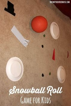 snowball roll game for kids title