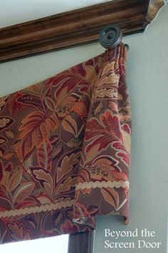 Pleated Bell Valance (4)