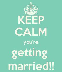 keep calm and stay married - Google Search