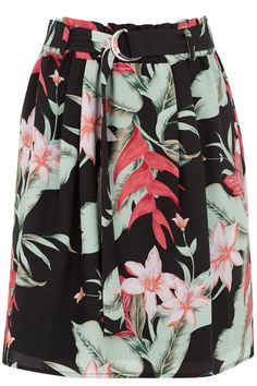 Oasis tropical wrap skirt