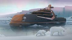 Time: мегаяхта с плавучим домом и беспилотником на борту — itBoat