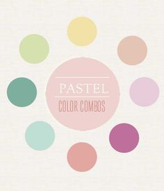 Pastel Color Inspiration | Rosy Glasses http://rosyglasses.com/5952/pastel-color-inspiration/  #pastels