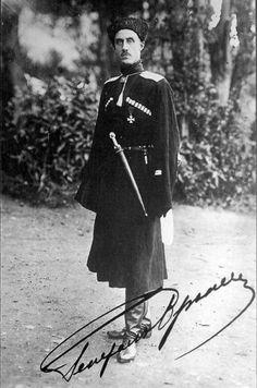 White Army General Pyotr Wrangel
