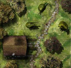 Gardmore Encounter 12: Groundskeeper's Cottage.