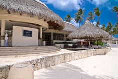 It's not a dream -- this place exists on the idyllic coastline of Bavaro Beach in Punta Cana! Original photos property of Punta Cana Lifestyle Real Estate. Punta Cana, Bavaro Beach, Sandy Beaches, Dominican Republic, Beach Club, Pergola, Past, Real Estate, Outdoor Structures