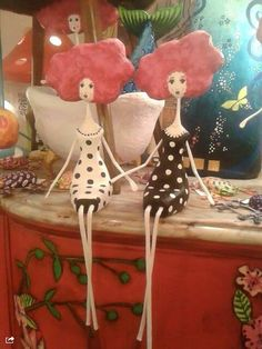 28 Ideas Diy Paper Mache Sculpture Crafts For 2019 Paper Mache Clay, Paper Mache Sculpture, Paper Mache Crafts, Sculpture Art, Diy Paper, Paper Crafting, Paper Art, Clay Dolls, Art Dolls