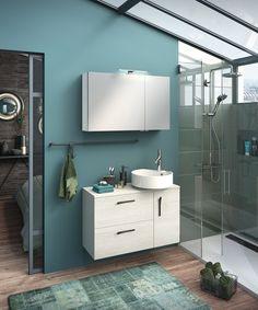 Ilot DELPHA, a new oasis in the bathroom - Kidsroom Decor, Bathroom Vanity, Home, Bathroom Color, House, Bathroom Mirror, Bathroom Kids, Deco, Bathroom
