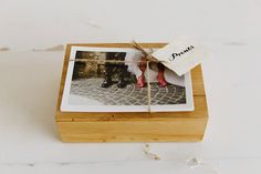 My new Wedding Photography Packaging | USB + Fine Art Prints + wood