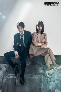 Poster shoot for the Korean drama Lawless Lawyer starring Lee Joon-gi and Seo Ye-ji Korean Variety Shows, Korean Shows, Korean Actresses, Korean Actors, Busan, High Fashion Poses, Drama Fever, Lee Joongi, Korean Drama Movies