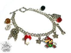 Mario- Inspired Charm Bracelet
