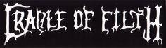 Cradle Of Filth- Logo sticker (st236)
