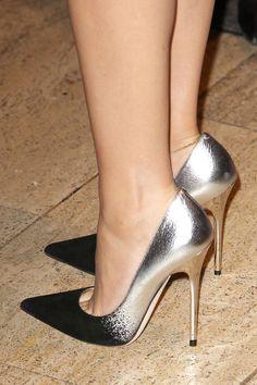women's legs in jimmy choo