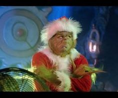Jim Carrey as The Grinch in a comedic monologue for kids in the film How the Grinch Stole Christmas, 2000 Grinch Memes, O Grinch, The Grinch Movie, Grinch Who Stole Christmas, Christmas Mood, Christmas Movies, Holiday Fun, Holiday Movies, Holiday Ornaments