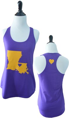 LSU Tank LSU . No babies in my house but I love this! Someone needs it @Kristen - Storefront Life Ramsey Are you a LSU Tiger Fan? Do you know an LSU fan? Or do you need something to give to someone who hates LSU as a prank? No matter what you need, this LSU poster is perfect for the college sports fan in your life. See more sports gifts here www.teamspiritstore.net/
