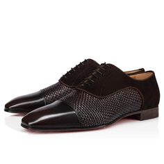 Red Sole, Formal Shoes, Sophisticated Style, Christian Louboutin Shoes, Online Boutiques, Dark Brown, Brownies, Oxford Shoes, Dress Shoes