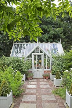 Garden Types Woodsage Mottisfont greenhouse from the National Trust collection at Alitex Cheap Greenhouse, Backyard Greenhouse, Greenhouse Wedding, Greenhouse Ideas, Wood Greenhouse Plans, Homemade Greenhouse, Portable Greenhouse, Garden Types, Victorian Greenhouses
