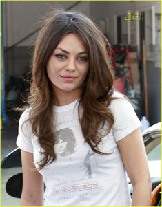 Oh, I like Mila Kunis even more now because of the shirt she is wearing!