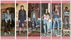 Gucci PRE-FALL 2016 Denim Trends