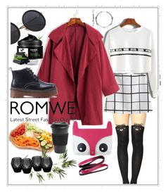 """""""#romwe #Hed-pu"""" by katymill ❤ liked on Polyvore featuring Gucci, Core Home, Homage, Pier 1 Imports and Eichholtz"""