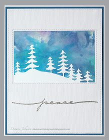 At the Creativation show this past January, Tim Holtz introduced a really cool technique you can do with Distress Oxides. He was playing ar. Christmas Tags Handmade, Stamped Christmas Cards, Christmas Tree Cards, Christmas Gift Tags, Xmas Cards, Holiday Cards, Christmas 2019, Handmade Cards, Card Making Tutorials