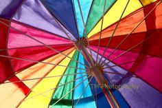 Colorful  Rainbow  Summer  Colors  Summer by turquoisemoon on Etsy, $35.00