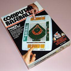 Vintage computer baseball