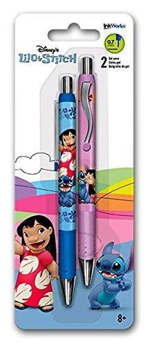 Disney Lilo and Stitch Gel Pens 2 Pk