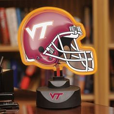 Memory Company Virginia Tech Hokies Neon Helmet Lamp $54.99