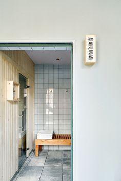 Brummell, local y cosmopolita Barcelona Hotels, Home Projects, Divider, Sauna, Furniture, Harvest, Home Decor, Bathroom, Modernism