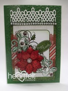 Heartfelt Creations | Peace On Earth Poinsettia