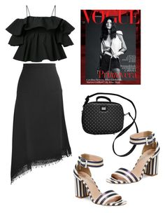 """Sin título #910"" by maricelmartinez on Polyvore featuring moda, Roland Mouret, MSGM, Nanette Lepore y Dolce&Gabbana"