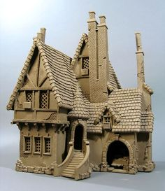 Stucco Row House - Buildings - Gallery - John Brickels ... | tudor house home gallery buildings: