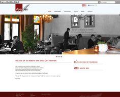 Klant: Restaurant Veertien. Gerealiseerd door Webbees: webdesign en technische realisatie. www.dineecafeveertien.nl